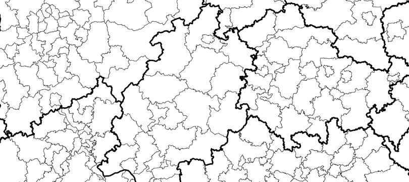 Gebietseinheiten 1:250 000