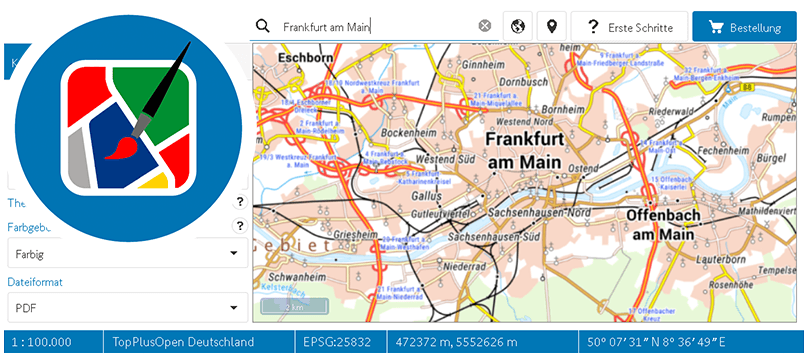 Map on Demand (MoD)