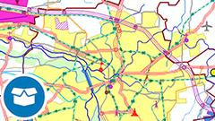 Digitales Landschaftsmodell 1:1 000 000 (Ebenen)