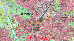 Digitale Topographische Karte 1:25 000
