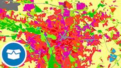 WFS CORINE Land Cover 5 ha, Stand 2012