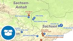 Themenkarte: Meister im Damen- und Herrenfußball und Deutschland