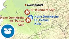 Themenkarte: Die schwersten Glocken und größten Orgeln in Deutschland