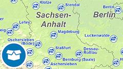 Themenkarte: Zoos in Deutschland
