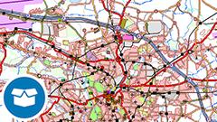 Digitales Landschaftsmodell 1:250 000 (Ebenen) (DLM250)
