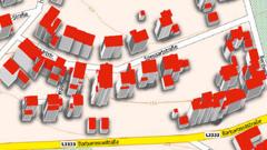 3D-Gebäudemodelle LoD1 Deutschland