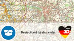 Topographische Karte 1:200 000 der DDR (TK200-DDR)