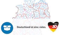 Verwaltungsgebiete Historisch (VG-Hist) - Jubiläumsausgabe 30 Jahre Deutsche Einheit