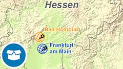 Themenkarte: GREF-Stationen in Deutschland