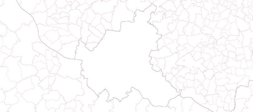 Verwaltungsgebiete 1:25 000 (kompakt), Stand 31.12.