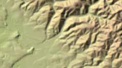 Digitales Geländemodell Gitterweite 50 m
