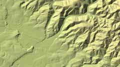 Digitales Geländemodell Gitterweite 5 m