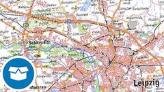Digitale Topographische Karte 1:250 000