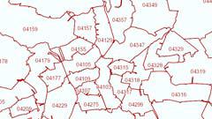 Postleitzahlgebiete Deutschland