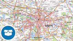 WMS Digitale Topographische Karte 1:250 000
